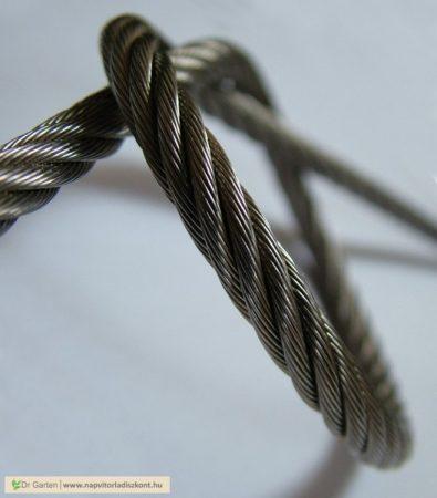 Drótkötél (6*19) 1770N/mm2 [M 2 mm - PVC]
